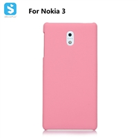 Soft Touch PC Case for Nokia 3