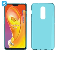waterproof grain TPU case for OnePlus 6