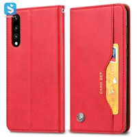 PU leather wallet phone case for Huawei P20 Pro