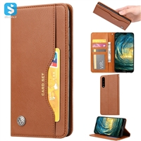 PU leather wallet phone case for Huawei P20