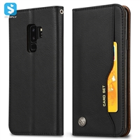 Pu leather wallet phone case for Samsung Galaxy S9 S9 plus