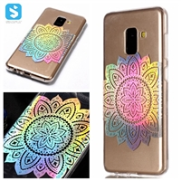 TPU bling series phone case for Samsung A8 2018