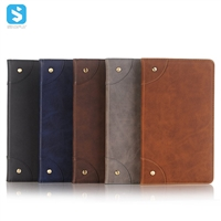 Book type front stand insert card leather case for Huawei Mediapad M5 8.4