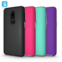 TPU+PC combo phone case for OnePlus 6