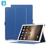 ultra thin carbon fiber case with card slot and front stand for Huawei MediaPad M5 Pro 10.8