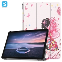 Tri fold colorful tablet case for Samsung Galaxy Tab S4 (10.5)/ T830/T835