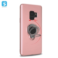 360 Ring adjustable car holder magnetic cover for Samsung Galaxy S9