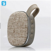 Fabric wireless speaker