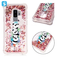 colorful print shockproof liquid sand phone case for Samsung Galaxy S9 Plus