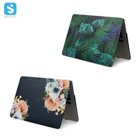 water sticker floral case for macbook Air 11