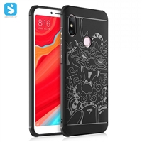 3D matte TPU phone case for MI Max 3