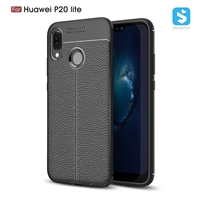 Litchi line TPU phone case for Huawei P20 Lite