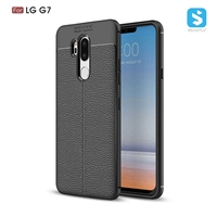 Litchi line TPU phone case for LG G7
