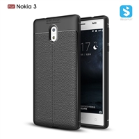 Litchi line TPU phone case for Nokia 3