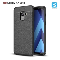 Litchi lines TPU phone case for Samsung Galaxy A7 2018 (A730F)