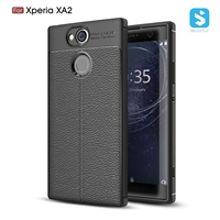 Litchi lines TPU phone case for SONY  Xperia XA2