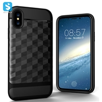 TPU PC 2 in 1 phone case for iPhone X(S)