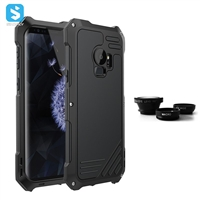 aluminium alloy silicone phone case for Samsung Galaxy S9+/S9 Plus