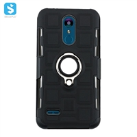 TPU PC Magnetic ring phone case for LG K8 2018