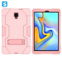 silicone PC with stand case for Samsung Galaxy Tab A 10.5/T590/T595