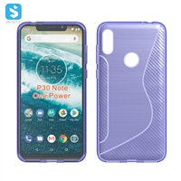 NS TPU phone case for Motorola P30 Note
