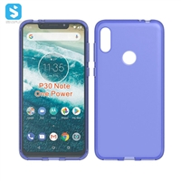 Pudding TPU phone case for Motorola P30 Note