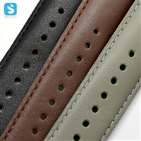 Genuine leather watchband for Samsung Gear S2