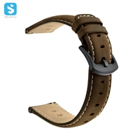 Crazy horse Genuine leather watchband for Samsung Gear S3