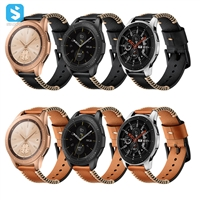 Genuine leather watchband for Samsung Galaxy Watch