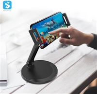 Desktop phone tablet stand