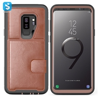 TPU PU phone case for Samsung Galaxy S9+/S9 Plus