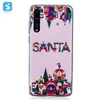 TPU christmas printing phone case for Huawei P20 Pro