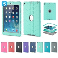 3 in 1 PC silicone case for ipad 9.7 2017/2018