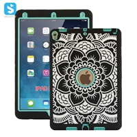 3 in 1 PC silicone case for iPad Pro 10.5