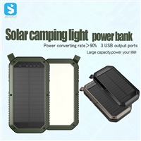 8000mAh solar power bank