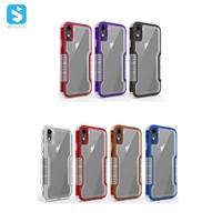 2 in 1 PC TPU phone case for iphone XR