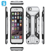 TPU PC with stand phone case for iphone 6(S)