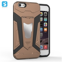 TPU PC with stand phone case for iphone 6