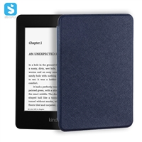 cross pattern PU leather case for Amazon Kindle Paperwhite(2018)