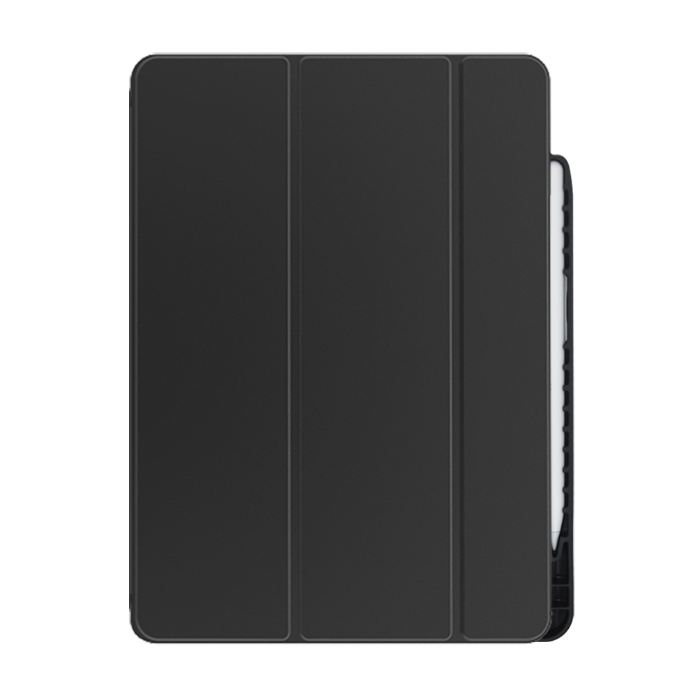 PC+TPU leather case for new iPad Pro 11 with pencil holder