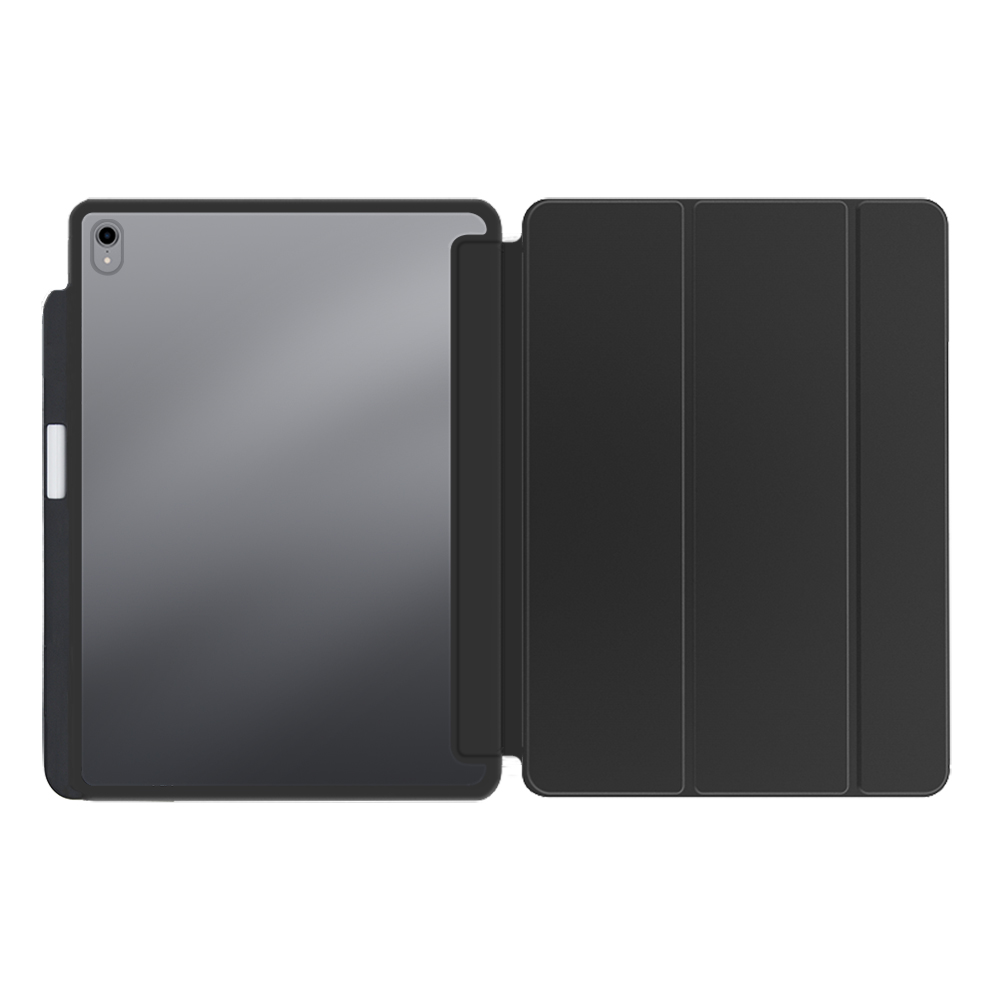PC+TPU leather case for new iPad Pro 12.9(2018) with pencil holder