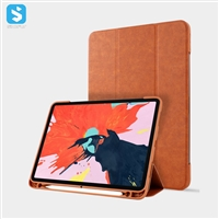 Napa pattern with pen holder for ipad pro 12.9 (2018)