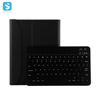 ABS Wire-drawing panel keyboard +TPU protective case + pen slot