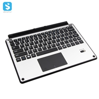 Alloy keyboard with touch pad for microsoft Surface 3/4