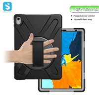 silicone PC with handle strap case for ipad pro 11