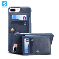 Calfskin pattern Universal leather back case for iphone 6 7 8 plus