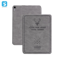 deer PC back cover leather case for ipad pro 11