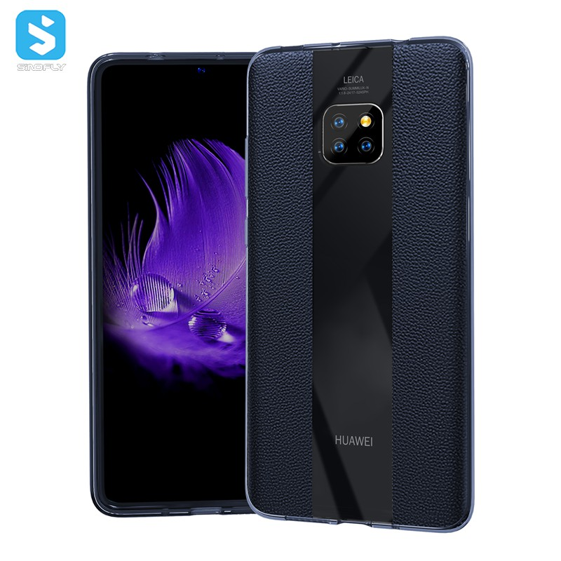 TPU genuine leather case for Huawei Mate 20 Pro