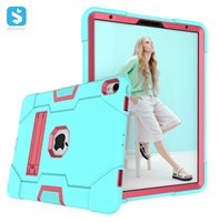 silicone PC with stand shockproof case for ipad pro 11 2018
