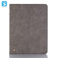 book cover leather case for ipad pro 2018